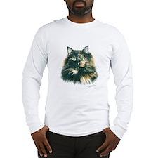 Tortoiseshell Cat Long Sleeve T-Shirt