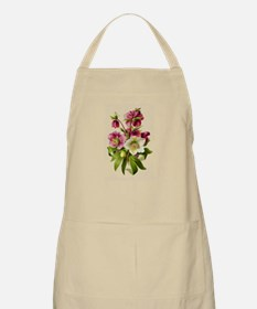 Purple and White Hellebores Apron