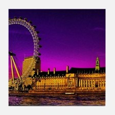 London Eye Tile Coaster