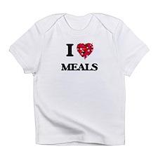 I Love Meals Infant T-Shirt