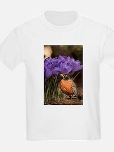 Robin and Crocus T-Shirt
