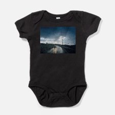 Unique Thunder road Baby Bodysuit