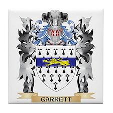 Garrett Coat of Arms - Family Crest Tile Coaster