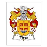 Pires Family Crest Small Poster