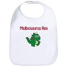 Mollyosaurus Rex Bib