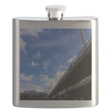 Cute Thames river Flask