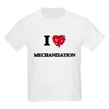 I Love Mechanization T-Shirt