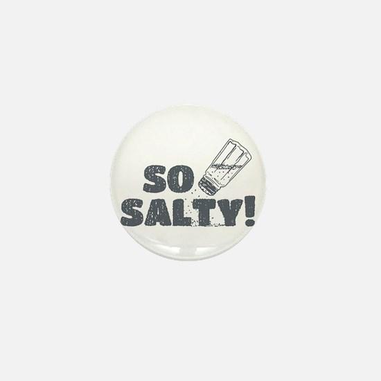 So Salty Mini Button