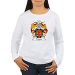 Pessoa Family Crest Women's Long Sleeve T-Shirt