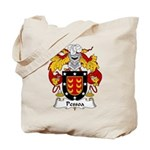 Pessoa Family Crest Tote Bag