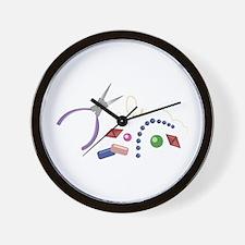 Jewelry Making Wall Clock