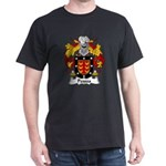 Pessoa Family Crest Dark T-Shirt