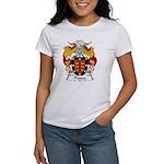 Pessoa Family Crest Women's T-Shirt