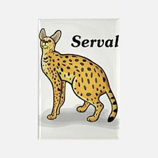 Serval Rectangle Magnet
