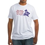 Patrick Henry - Every Man Armed Fitted T-Shirt