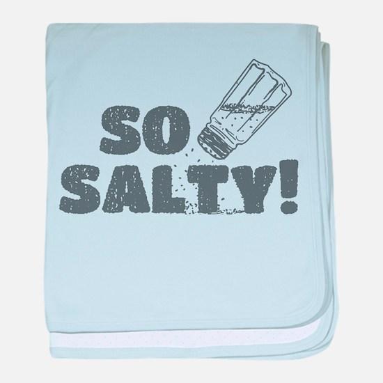 So Salty baby blanket