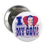 I Love My Gov Mitt Romney Button