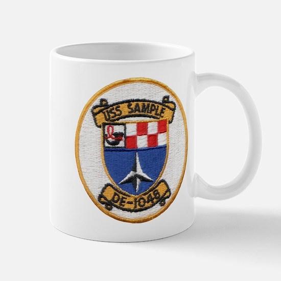USS SAMPLE Mug