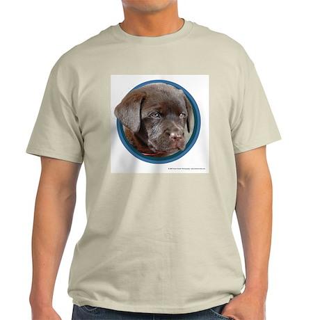 Chocolate Lab Puppy Light T-Shirt