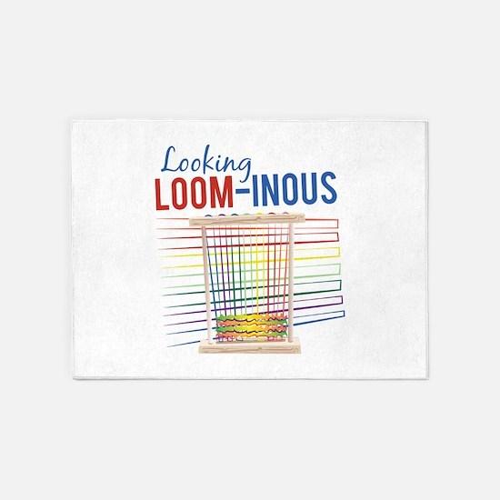 Looking Loom-inous 5'x7'Area Rug
