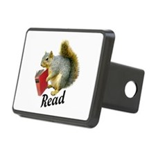 Squirrel Book Read Hitch Cover