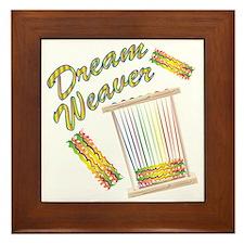 Dream Weaver Framed Tile