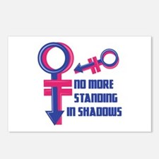 Standing In Shadows Postcards (Package of 8)
