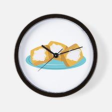 Beignets Wall Clock