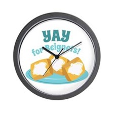 For Beignets! Wall Clock