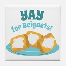 For Beignets! Tile Coaster