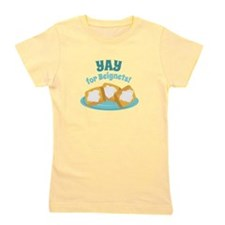 For Beignets! Girl's Tee