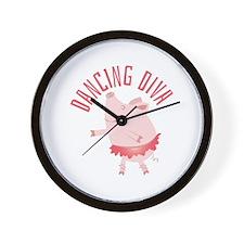 Dancing Diva Wall Clock