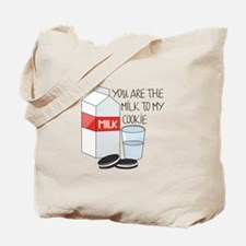 Milk To My Cookie Tote Bag