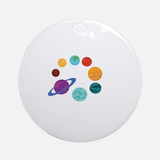 Solar System Ornament (Round)