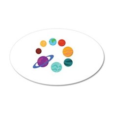 Solar System Wall Decal