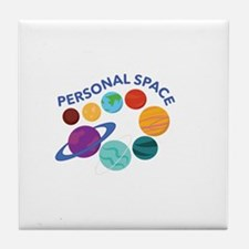 Personal Space Tile Coaster