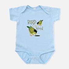 Bird Is The Word Body Suit