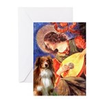 Angel3 - Aussie Shep #4 Greeting Cards (Pk of 20)