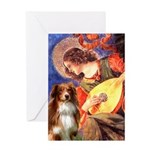 Angel3 - Aussie Shep #4 Greeting Card