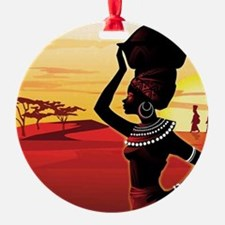 Cute Ghana Ornament