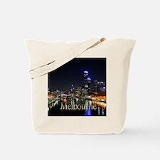 Melbourne, Victoria Australia City Lights Tote Bag