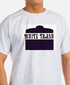 White Trash Can Ash Grey T-Shirt
