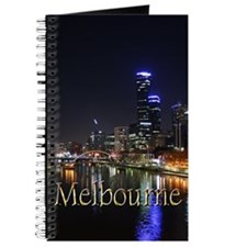 Melbourne, Victoria Australia City Lights Journal