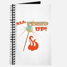 All Fired Up Journal