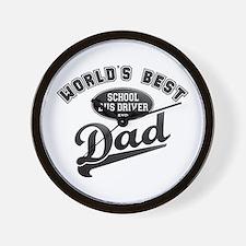 School Bus Driver/Dad Wall Clock