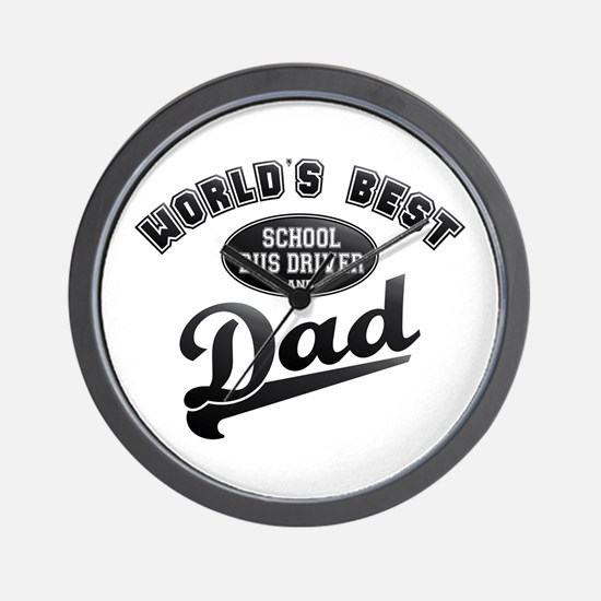 School Bus Driver/Dad Wall Clock