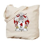 Pegas Family Crest Tote Bag