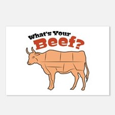 Where's Your Beef? Postcards (Package of 8)