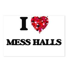 I Love Mess Halls Postcards (Package of 8)