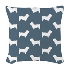 Glen Of Imaal Terrier Woven Throw Pillow